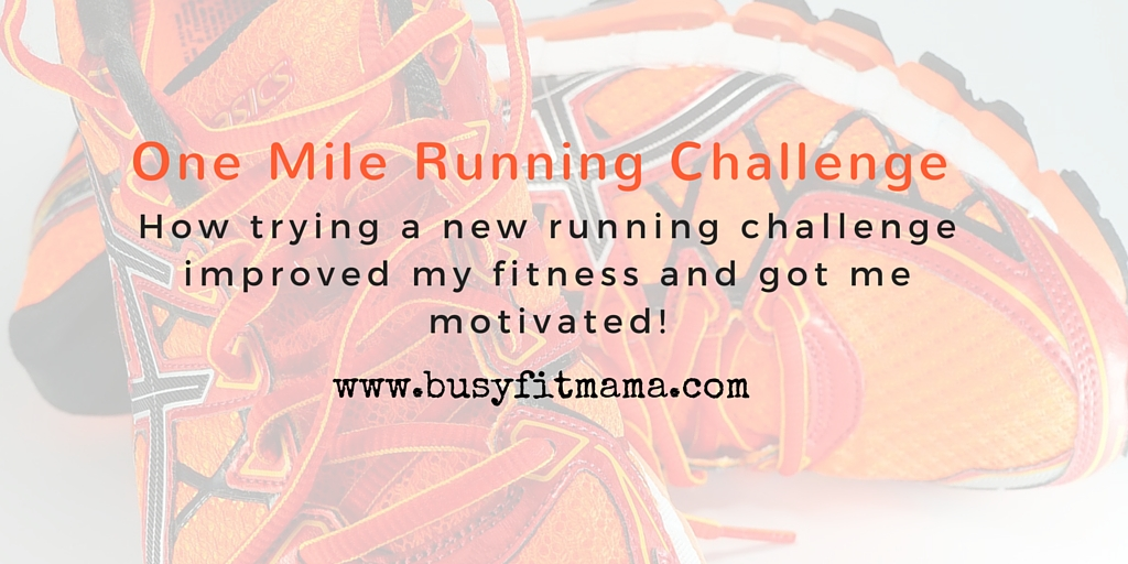 One Mile Running Challenge