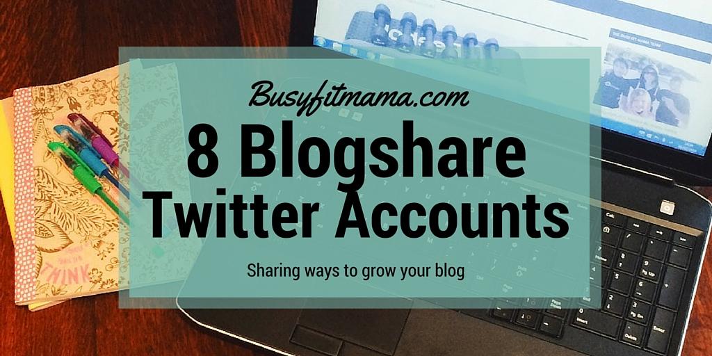 Twitter Blogshare Infographic